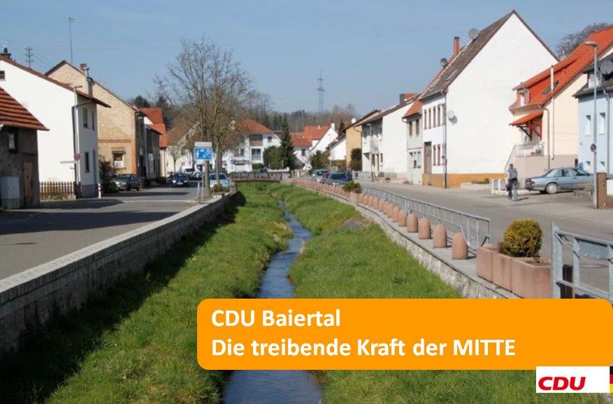 CDU Baiertal - die treibende Kraft der MITTE
